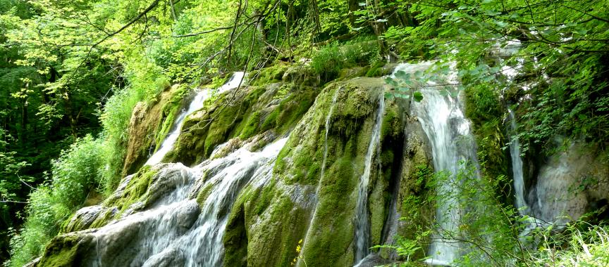 Cascade à Virieu le Grand